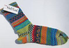 Socken - Socken Gr. 44/45 - ein Designerstück von Lotta_888 bei DaWanda