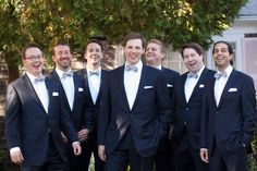Groomsmen just wanna have fun. If you keep reading this article, you'll see how they were, indeed, the life of the party. Their custom navy and pinstripe suits were from The Oxford shop paired with coordinating suspenders and bow ties, given by the groom to his groomsmen. Wedding Wednesdays from StyleBlueprint Nashville.