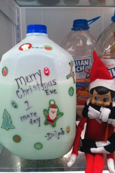 Elf turns the Milk green ....                                ELF goes POO and PEE  (lol)                    1. Marshmallow fight — marsh...