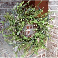 """You'll love the 22"""" Spiral Fern Berry Wreath at Wayfair - Great Deals on all Décor & Pillows products with Free Shipping on most stuff, even the big stuff."""