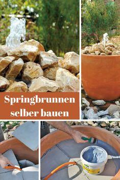 85 best Gartenteich, Springbrunnen etc. images on Pinterest in 2018 ...