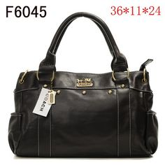 Coach Outlet - Coach Leather Bags No: 21002