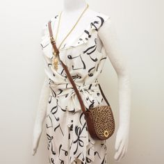 I need a music note dress and a pony hair Celine...