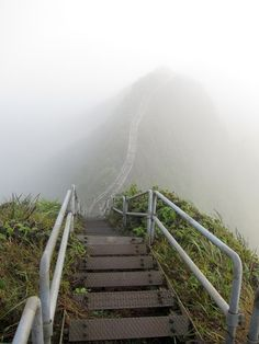 Discovering Hawaii's real-life stairway to heaven
