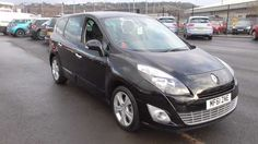Used 2011 (61 reg) Black Renault Grand Scenic 1.5 dCi 110 Dynamique TomTom 5dr for sale on RAC Cars