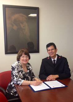 @NUCPR Redobla esfuerzos contra la violencia de género en acuerdo con #SalvationArmy de Puerto Rico