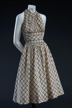 Claire McCardell, Dress, 1944, Fashion Institute of Technology, New York