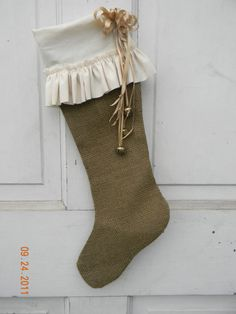 Another homespun stocking