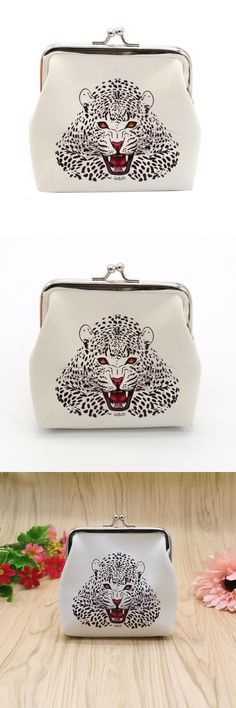 [Visit to Buy] Cute Women Coin Purse Lady Retro Vintage Lion Small Wallet Hasp Purse Clutch Bag Fashion Female Kids Mini Money Bag Hot Sale #Advertisement