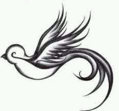 Swallow tattoo..want one on my back