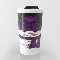 The Armless Snowman Travel Mug. By One Artsy Momma