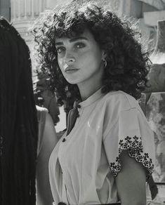 Curly Hair Curly hair Deutsch Beauties i. Curly Hair Curly hair Deutsch Beauties in Reminiscences Curly Hair Styles, Natural Hair Styles, Curly Hair Bangs, Curly Hair Fringe, Shaggy Curly Hair, Long Natural Curls, Curly Hair Cuts, Thin Hair, Curly Bob