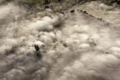 Aerial View of Australia Countryside in the Fog Visit us on http://brucestevensdental.com.au/