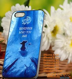 simba the lion king iPhone 4/4s/5/5c/5s Case Samsung by PASUCEN, $15.00
