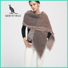 Women Shawls and Scarves 2017 New Fashion Luxury Brand Winter Warm Large Soft Wool Cashmere Plaid Scarf for Women Para Mujer #luxurymujer
