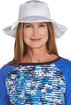 e242fa70050d33 Coolibar UPF 50+ Women's Chlorine Resistant Bucket Hat - Sun Protective  Review