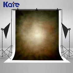 Kate Solid Gray Hazy Blurry Unreal Photography Backdrops Romatic Photo Backgrounds for Wedding Studio Props