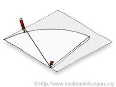 Schultuete basteln (from Bastelanleitungen.org)