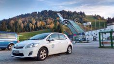 Noch ein tolles #Urlaubsfoto, diesmal vom Olympia-Skistadion in Garmisch-Partenkirchen #Stattauto #München #CarSharing