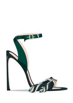 Hot Shoes, Crazy Shoes, Me Too Shoes, Shoe Boots, Shoes Sandals, Suede Sandals, Green Shoes, Shoe Closet, Beautiful Shoes
