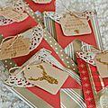 gourmandises pour table de Noel par Angèle - Toga créateur d'envies