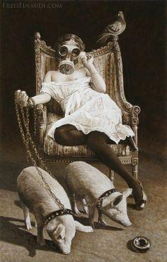 20 Funny Vintage Photos That Can't Be Explained About Women - Collection -Punk art ⭐ - Art Bizarre, Creepy Art, Weird Art, Strange Art, Creepy Stuff, Funny Vintage Photos, Photo Vintage, Vintage Humor, Vintage Photos Women