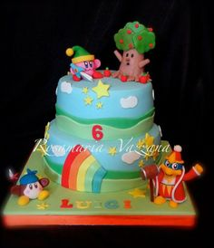 Kirby's Cake by rosamaria - Always love well done fondant cakes.