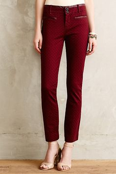 Textured Charlie Trousers - anthropologie.com