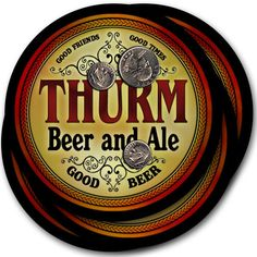 Beer Coasters Thurm Wallo Zelko Zilch Alpha Bayuk Borza Burne Capan Clipp Delfs…