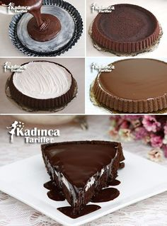 - Kadınca Tarifler - Tart Kekten Ağlayan Pasta Tarifi Imágenes efectivas que le proporcionamos sobre healthy snacks Una - Cheesecake Brownie, Cheesecake Recipes, Pie Recipes, Pasta Recipes, Pancake Cake, Best Pie, Flaky Pastry, Delicious Cake Recipes, Mince Pies