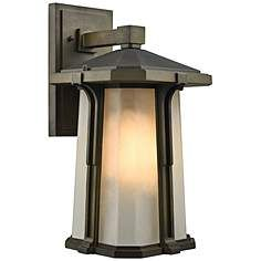 Outdoor Wall Lights and Sconces - Entryway, Patio & More - Page 3 Porch Light Fixtures, Outdoor Wall Light Fixtures, Porch Lighting, Led Lights, Outdoor Wall Sconce, Outdoor Lighting, Outdoor Walls, Glass Bulbs, Elk Lighting