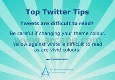 It can take time to produce good content for your Twitter account.  Don't make it difficult for your followers to read your tweets.