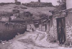 Street in Ohrid, Macedonia, 1926.