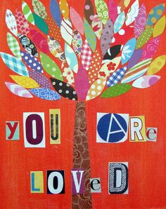 You Are Loved (8 x 10) print. $14,00, via Etsy.