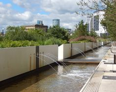 Eastside City Park, Birmingham, West Midlands, England  by Patel Taylor, Architects. (DOGS WOULD LOVE THIS)