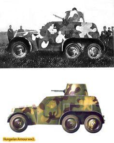 Zsákmányolt cseh Tatra vz 20.páncélautó magyar kézen. Szlovák területen került a magyar haderő kezébe, átfestve magyar álcaszínekkel és a gépesített egységek jelével ellátva teljesített felderítő szolgálatot.