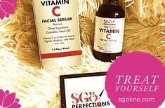 Natural Vitamin C + Retinol Serum Vitamin C Serum Benefits, Health And Wellness, Health And Beauty, Natural Vitamin C, Beauty Companies, Positive Living, Farmhouse Christmas Decor, Facial Serum, Treat Yourself