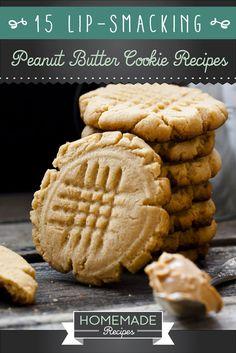 20 Peanut Butter Cookies Recipes Your Kids Will Love | HMRFacebookGoogle+InstagramPinterestTumblrTwitterYouTube