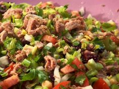 Tuna and Vegetable Salad from FoodNetwork.com
