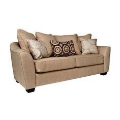 Amazon.com: angelo:HOME Cooper Sofa, Summer Sand Tan: Home & Kitchen