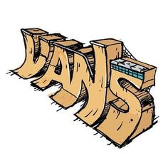 3996c047f5d212 i like this because vans is my favorite shoe company and the font looks  like a half pipe ramp for skateboarding.