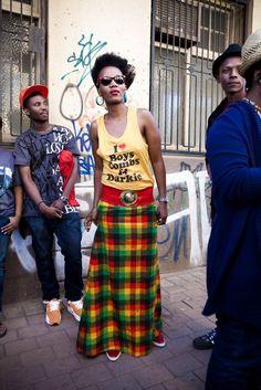 África calle de estilo