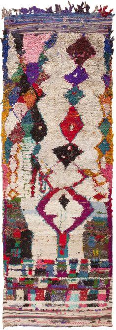 Vintage Moroccan Rug ,beautiful !!