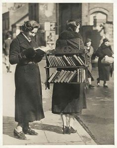 A Walking Library