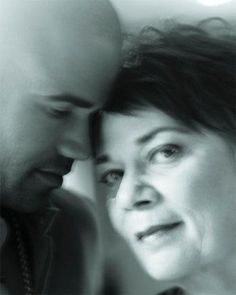 Shemar Moore and his mom. Loving this pic.