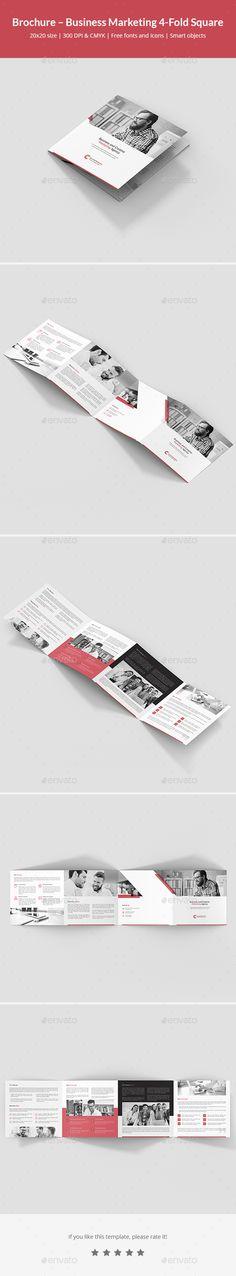 Brochure \u2013 Business Marketing 4-Fold Business marketing, Brochures