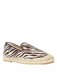 Lanii Pony Hair Moccasins | Lord and Taylor