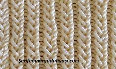 Örgülerde kullanabileceğiniz farklı bir alternatif olarak asri lastik modelini kullanabilirsiniz. Genel olarak bütün örgülerde farklı lastik seçenekleri aranmaktadır. Bu konuda kararsız kalanlar için Knitting Squares, Baby Knitting Patterns, Knitting Stitches, Stitch Patterns, Knitting Videos, Crochet Videos, Crochet Jacket, Knit Crochet, Crochet Crocodile Stitch