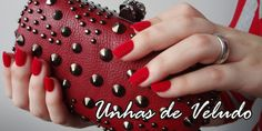 #postica #unhapostiça #Resenha #tutorial #unhasdeVeludo #pelúcia #Vermelho #Vermelha #unha #unhadaSemana #unhaDecorada #Beleza #Vaidade #manicure #Folga #Veludo #unhasdeVeludo #linda #beleza #Beauty #red #Review