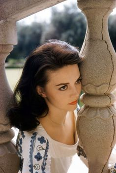 Natalie Wood photographed by Peter Basch, 1958